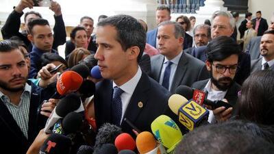 """Guaidó reitera que la ayuda humanitaria entrará a Venezuela este sábado """"sí o sí"""""""