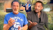 Schwarzenegger dice una gran verdad de la panza que echó Will Smith por comer muffins en pandemia