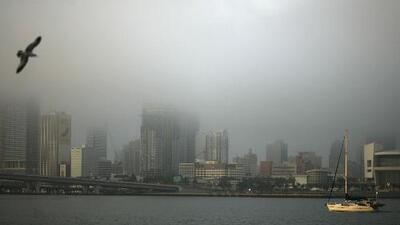 Madrugada húmeda con posibilidad de neblina, el pronóstico del tiempo para este miércoles en Miami