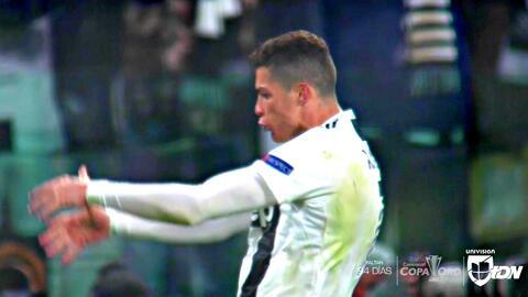 Cristiano Ronaldo no se la perdonó al 'Cholo' y celebró con polémico festejo