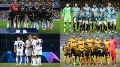 Jornada 2 de Champions League tendrá duelos entre David y Goliat
