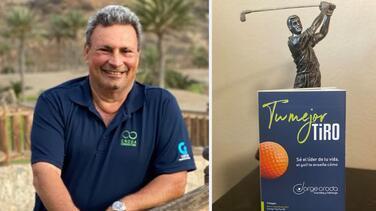 """""""El golf te ayuda a ver lo positivo en lo negativo como lo que vivimos ahora"""": golfista que escribe libro durante la pandemia"""