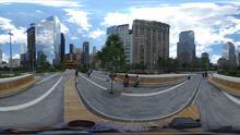 Liberty Park ofrece más que un respiro en la agitada Zona Cero de NYC