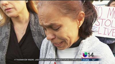 Familiares y vecinos piden justicia por la muerte de un joven a manos de un policía de Santa Clara