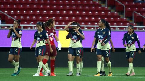 América sueña y cree en remontar la semifinal de la Liga MX Femenil