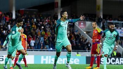 Cristiano mantiene el sueño de Portugal para avanzar directamente a Rusia 2018