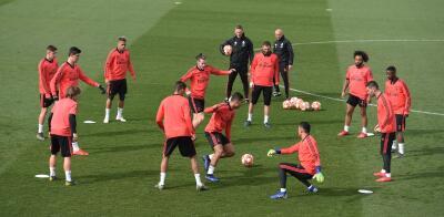 El entrenamiento de Real Madrid para sacudirse con miras al duelo de Champions