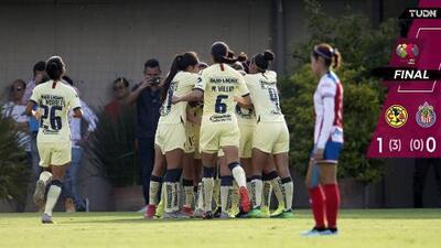 América finiquitó la serie en casa ante Chivas