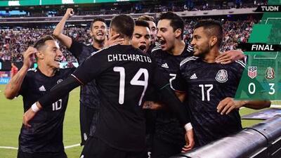 Estados Unidos 0-3 México | Resumen | Goleada del Tri al Team USA