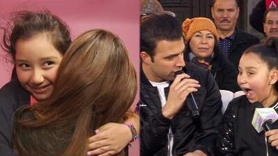 Esta pequeñita despertó con un abrazo de Ana Patricia y terminó bailando con Jencarlos Canela