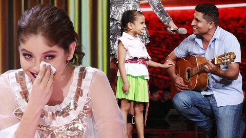 La canción de 'Beba' y su papá que hizo llorar a Karol Sevilla