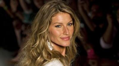 Gisele Bündchen es la modelo mejor pagada del mundo