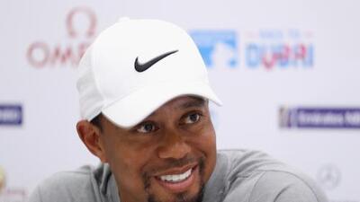 """Tiger Woods habla de su cansancio: """"Mi mamá me despertó en la madrugada"""""""