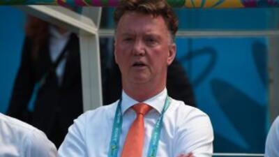 Louis Van Gaal asumió como técnico en el Manchester United