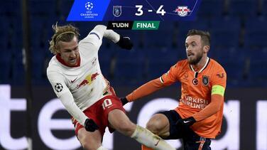 ¡Juegazo de Champions! Leipzig gana al Istanbul en feria de goles