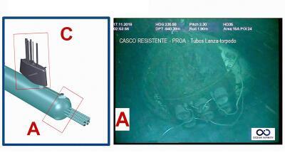 Lo hallaron un año después: las fotos del submarino ARA San Juan en el fondo del océano