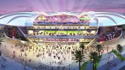 El futurista estadio que quiere construir Beckham para su Inter Miami