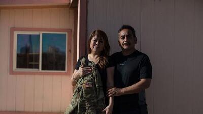 Ella vive en Texas indocumentada y tiene un hijo soldado que trabaja con la Patrulla Fronteriza