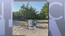Bañistas dejan las playas llenas de basura