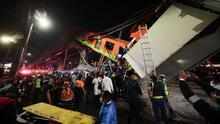 Al menos 20 muertos y más de 80 heridos por el desplome de dos vagones del metro en Ciudad de México