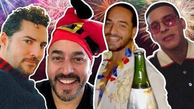 Lupillo Rivera pide que no escuchen sus canciones: así él y otros famosos cantantes recibieron el Año Nuevo