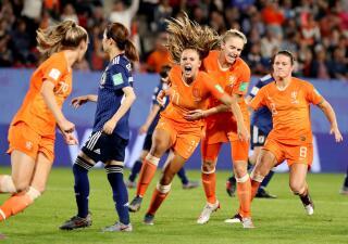 En fotos: La Naranja Mecánica, a Cuartos de Final del Mundial Femenino al vencer a Japón