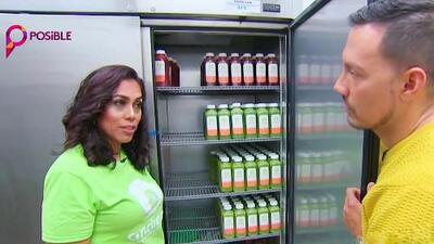 Su negocio saludable comenzó en la cocina de su casa, ahora esta hispana emprendedora nos muestra que todo posible