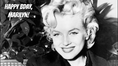 5 tragos para festejar los 90 de Marilyn