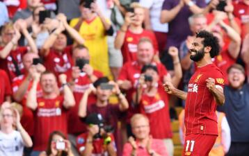 En fotos: Salah exhibió a David Luiz y Liverpool le pegó al Arsenal