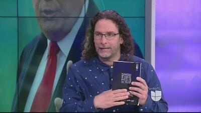 ¿Cómo nace la idea del libro 'Espantado de todo me refugio en Trump'? Así lo explica su autor Orlando Pardo