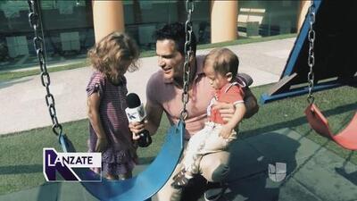 Julio Camejo además de ser actor y cantante también es padre de tiempo completo y nos presenta a sus hijos