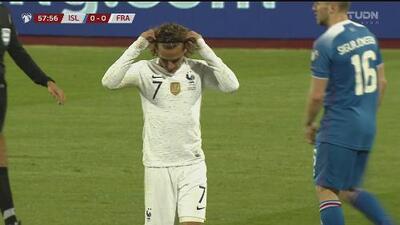 Antoine Griezmann no encuentra la portería y sigue con la pólvora mojada