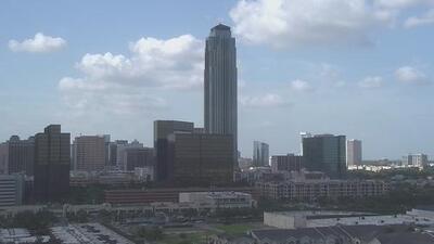 Cielos mayormente despejados y condiciones cálidas durante este domingo en Houston