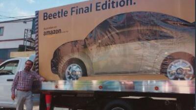 Así es la sorprendente manera en que entregan la última edición del escarabajo