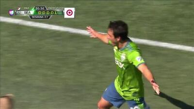 ¡GOOOL! Nicolás Lodeiro anota para Seattle Sounders FC