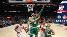 Boston suma 4 ganados seguidos y se afianza como tercero del Este