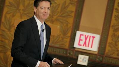 Crece la polémica en torno al despido del director del FBI James Comey