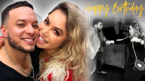 Con este romántico video Chiquis Rivera desea feliz cumpleaños a su prometido Lorenzo Méndez (y lo hace llorar)