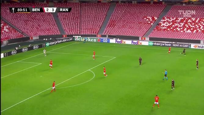 ¡GOOOL! Darwin Núñez anota para Benfica.