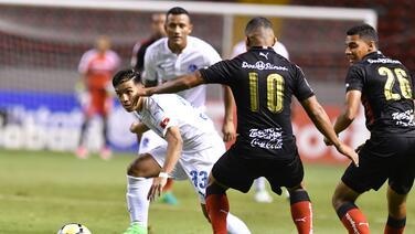 Olimpia le pegó de visitante al Alajuelense y lo eliminó de la Liga Concacaf