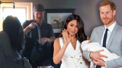 Las fotos que evidencian que Meghan Markle y el príncipe Harry llevaron su bebé a un pub