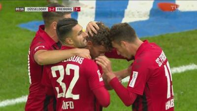 Friburgo se envalentona y consigue el 1-2 por medio de Luca Waldschmidt