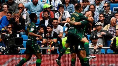 Guardado brilla en victoria del Real Betis ante el Real Madrid
