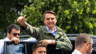 El ultraderechista Bolsonaro gana las elecciones presidenciales en Brasil con más del 55% de los votos