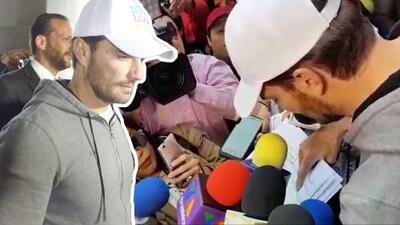 A Julián Gil le han descontado casi 31,000 dólares por pensión alimenticia