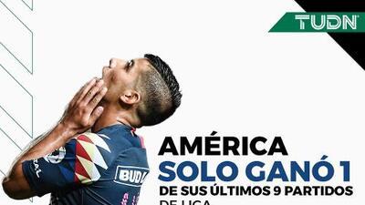 ¡Debacle Águila! América suma un triunfo en nueve partidos