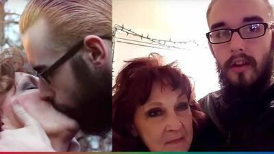 (Video) Abuelita de 72 años encuentra el amor en joven de 19