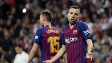"""Jordi Alba tras derrota del Barça con el Granada: """"Estamos muy jodidos"""""""