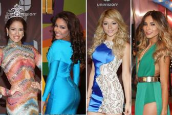 Las bellezas latinas robaron muchas miradas