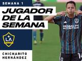 Javier Hernández, Jugador de la Semana en MLS tras marcar dos goles